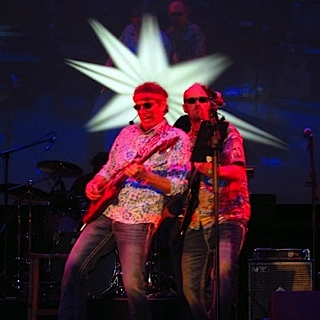 dan and bruce gig at egyption theatre pc with the band Danny Boy