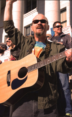 Bruce at Clean Air Rally 2015